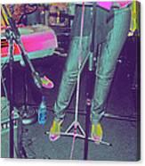 Singer's Stance Canvas Print