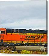 Single Bnsf Engine Canvas Print