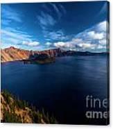 Sinott Crater Lake View Canvas Print