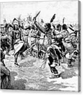 Sioux Ghost Dance, 1890 Canvas Print