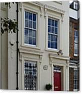 Sir Christopher Wren's Home Canvas Print