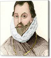 Sir Francis Drake, English Explorer Canvas Print