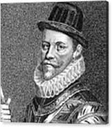 Sir John Hawkins (1532-1595) Canvas Print