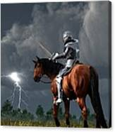 Sir Lightning Rod Canvas Print