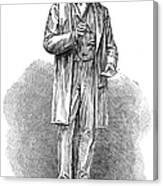 Sir Rowland Hill (1795-1879) Canvas Print