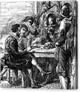 Sir Walter Raleigh Canvas Print