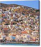 Siros Greece 2  Canvas Print