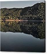 Siskiyou Lake Panorama Canvas Print