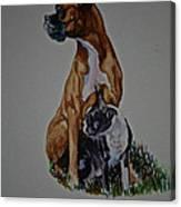 Sister Story Canvas Print