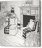 Sitting Room Canvas Print