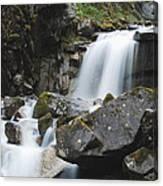 Skagway Waterfall 8619 Canvas Print
