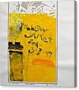 Sketchbook 1  Pg 41 Canvas Print