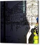 Sketchy London Canvas Print
