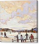 Ski Day Canvas Print