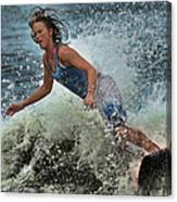 Skimmer Girl 1 Canvas Print