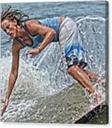 Skimmer Girl 3 Canvas Print