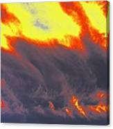 Sky A Flame Canvas Print
