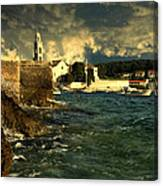 Sky Above Island Canvas Print