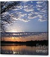 Sky At Dusk Canvas Print
