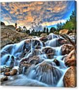 Sky Blue Falls Canvas Print