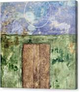 Sky Disc Canvas Print