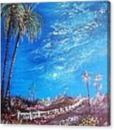 Sky So Blue Canvas Print