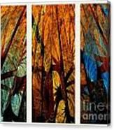 Sky-trees Montage Canvas Print