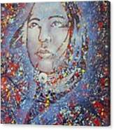 Sky Woman Canvas Print