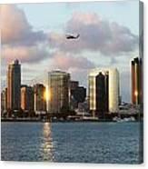 Skyline From Coronado Canvas Print