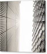 Slatted Window Architecture Canvas Print