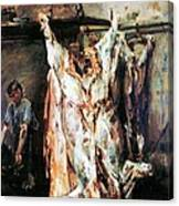 Slaughtered Ox Canvas Print