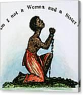 Slavery: Woman, 1832 Canvas Print