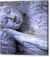 Sleeping Buddha Statue Canvas Print