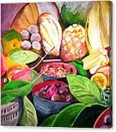 Slice Of Jamaica Canvas Print