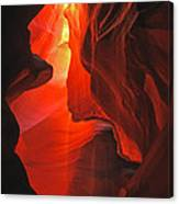 Slot Canyons - 502 Canvas Print