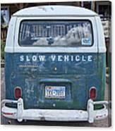 Slow Vehicle Canvas Print