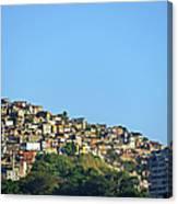 Slum At Santa Teresa Canvas Print