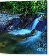 Small Blue Water Canvas Print