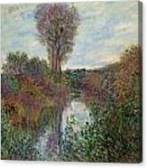 Small Branch Of The Seine Canvas Print