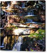 Small Falls Canvas Print
