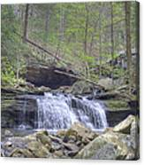 Small Waterfall Canvas Print