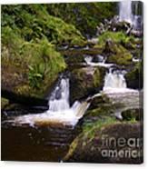 Small Waterfalls Canvas Print
