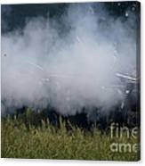 Smoke And Steel Canvas Print