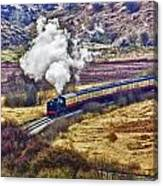 Smoke In The Valley Canvas Print