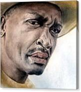 Smokin Joe Frazier Canvas Print