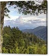 Smoky Mountain Vista Canvas Print