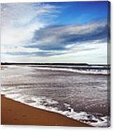 Smooth Wave Canvas Print