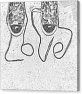 Sneaker Love 2 Canvas Print