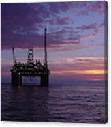 Snorre Sunset Canvas Print