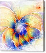 Snow Blossom Canvas Print